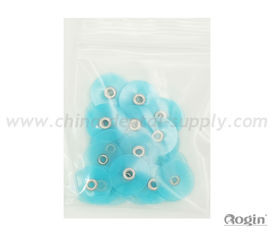 China Blue Coarse Dental Polishing Discs For Groass Reduction With Moderate Hardness supplier